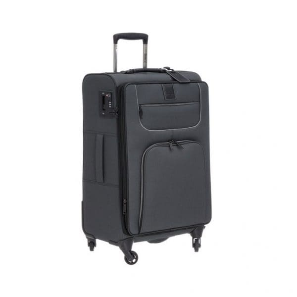 Stratic Go First-Stop Later 4-Rollen Trolley L 80 cm Black 1