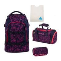 Satch-Pack-Set-4tlg-Pink-Bermuda
