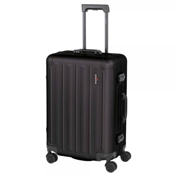 Hardware Profile Plus Alu 4-Rollen Trolley M 65 cm Black