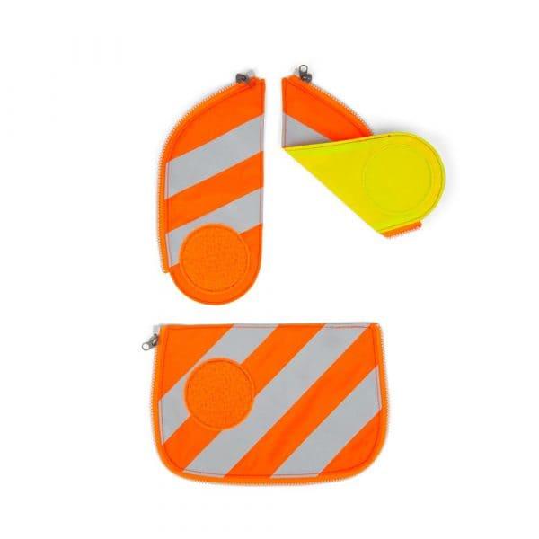 Ergobag Cubo Sicherheitsset mit Reflektorstreifen Orange 1