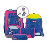 Step by Step GIANT Schulranzen-Set 5tlg Happy Dolphins