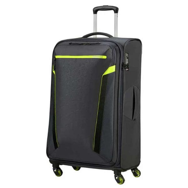 American Tourister At Eco Spin Trolley L Atlas Grey