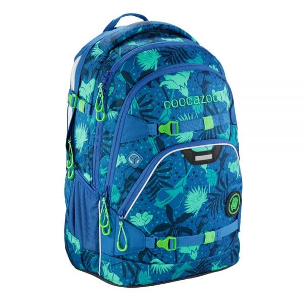 Coocazoo ScaleRale Schulrucksack-Set 3tlg. Tropical Blue 2
