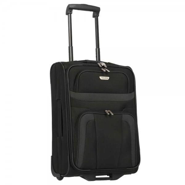 Travelite Orlando 2-Rollen Bordtrolley S 53 cm Schwarz