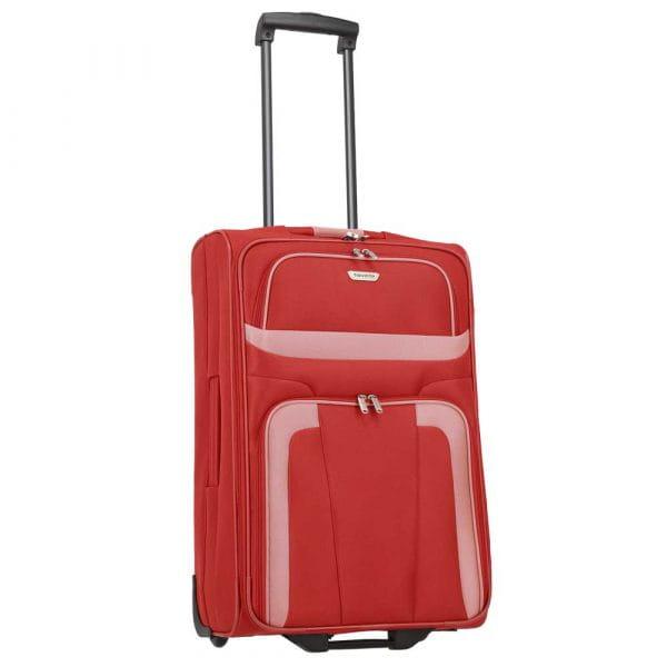 Travelite Orlando 2-Rollen Trolley M 63 cm Rot