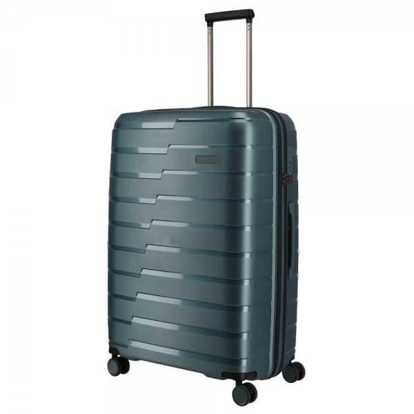 Travelite Air Base 4-Rollen Trolley L 77 cm Eisblau