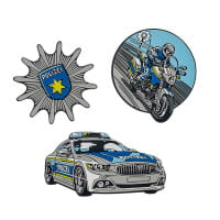 Scout Funny Snaps Set 3tlg Blue Police