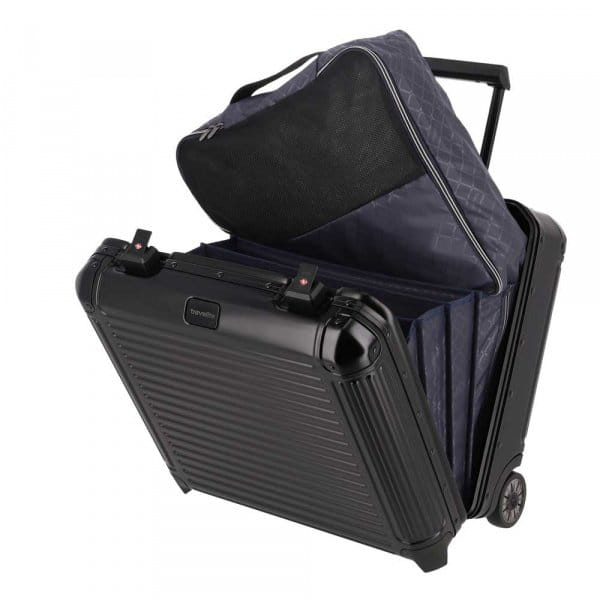 Travelite Next Businesswheeler Schwarz Zusatzbild-6