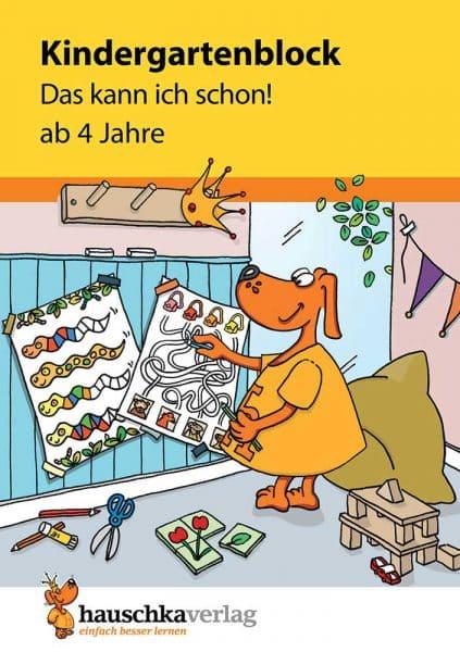Hauschka Verlag 620 Kindergartenblock - Das kann ich schon!
