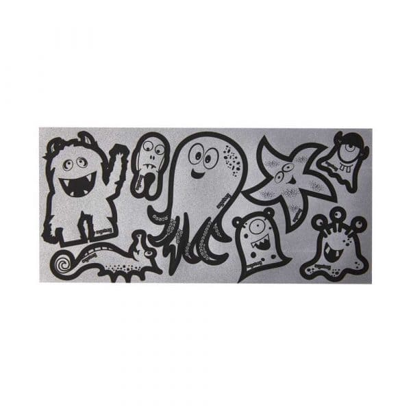 Ergobag Reflexie Sticker-Set Silber
