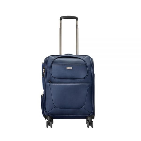 Stratic Unbeatable III 4-Rollen Trolley S 55 cm Navyblue 1