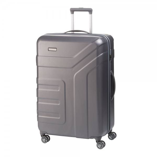 Travelite Vector 4-Rollen Trolley L 77 cm Anthrazit
