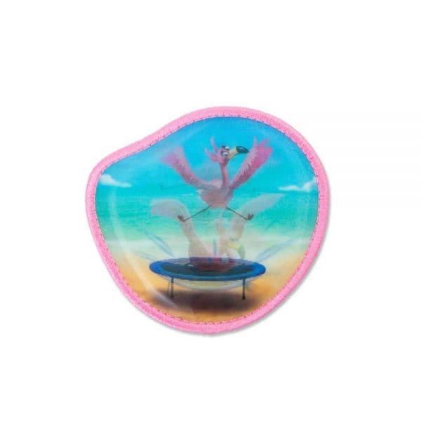 Ergobag Wackelbild-Klettie Flamingo