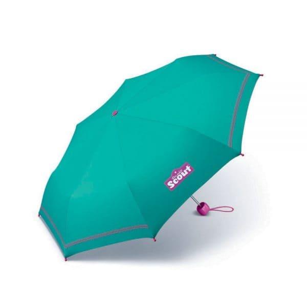 Accessoires - Scout Kinder Regenschirm Green - Onlineshop Southbag