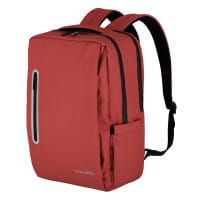 Travelite Basics Boxy Rucksack Rot