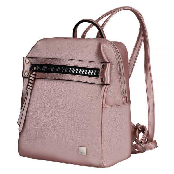 Titan Spotlight Zip Rucksack Metallic Pink