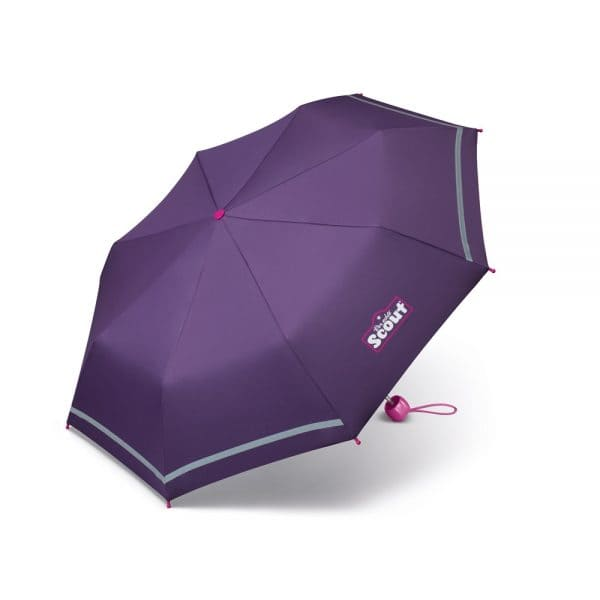 Accessoires - Scout Kinder Regenschirm Dark Lilac - Onlineshop Southbag