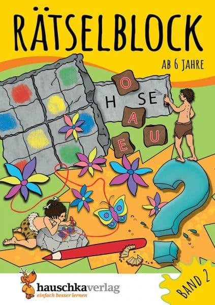 Hauschka Verlag 637 Rätselblock ab 6 Jahre Band 2