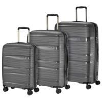 Travelite Motion 4-Rollen Trolley-Set 3tlg S-M-L Anthrazit
