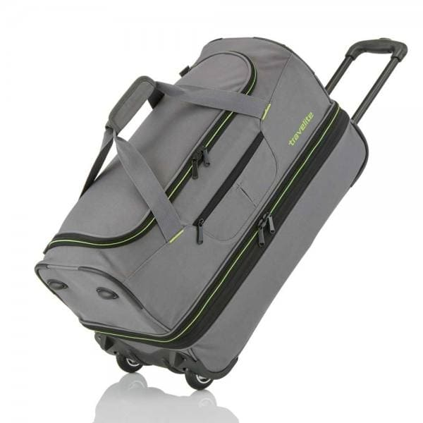 Travelite Basics Trolley Reisetasche S 55 cm Grau