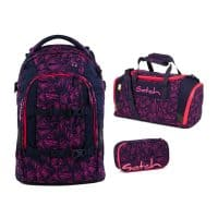 Satch-Pack-Set-3tlg-Pink-Bermuda