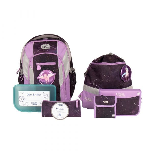 School-Mood Loop Air Plus Schulrucksack-Set 7tlg Stella