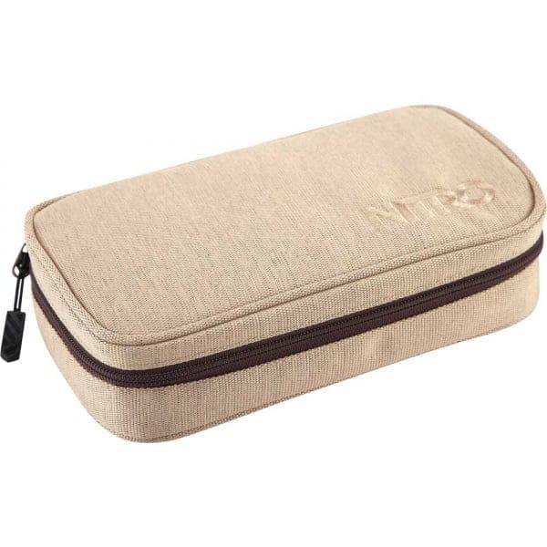 Nitro Pencil Case XL Schlamperetui Almond
