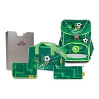 DerDieDas ErgoFlex Schulrucksack-Set 5tlg Green Goal