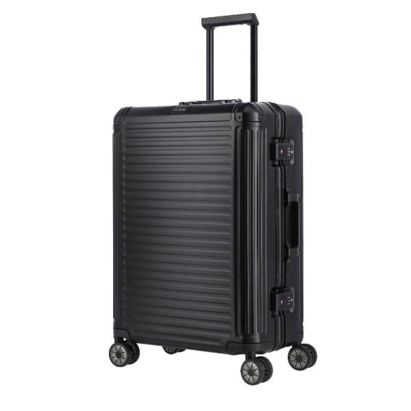 Travelite Next 4-Rollen Trolley M 67 cm Schwarz