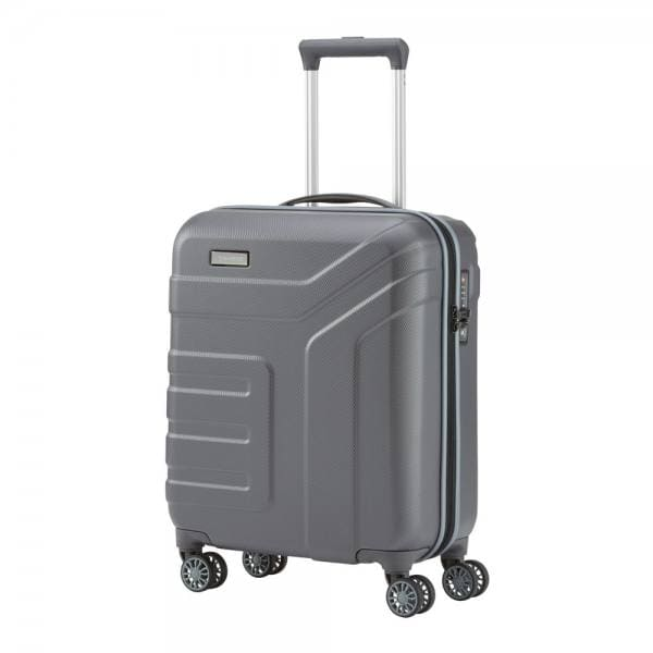 Travelite Vector 4-Rollen Trolley S 55 cm Anthrazit