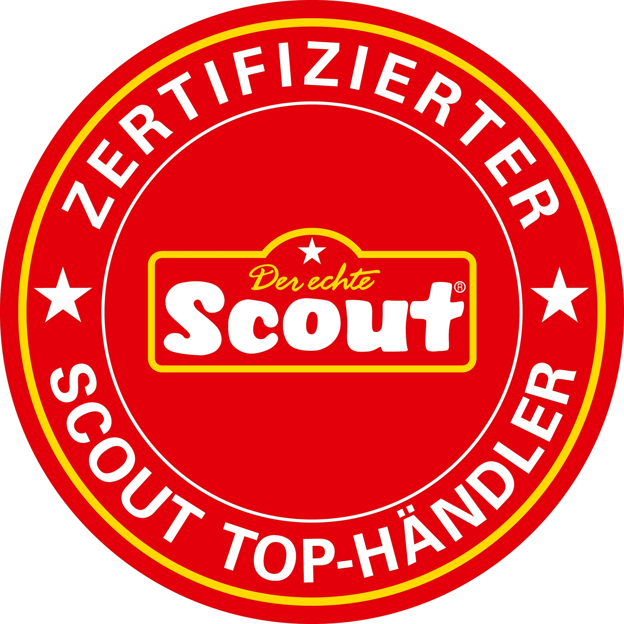 Scout Alpha Safety Light Schulranzen-Set 4tlg.