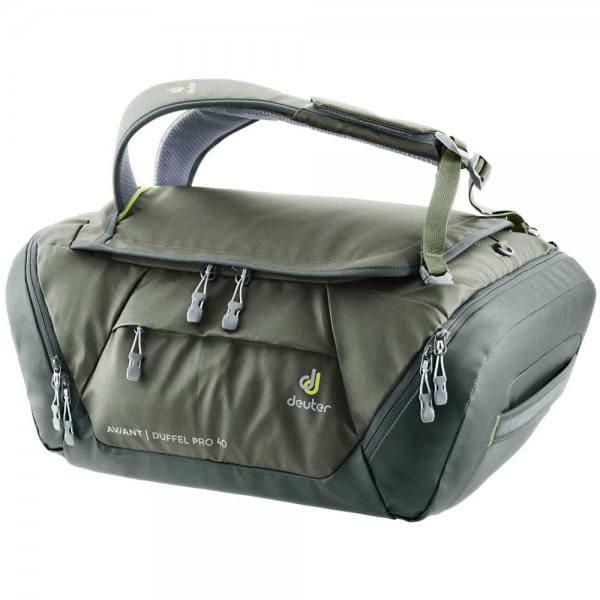 Deuter Aviant Duffel Pro 40 Reisetasche Khaki-Ivy
