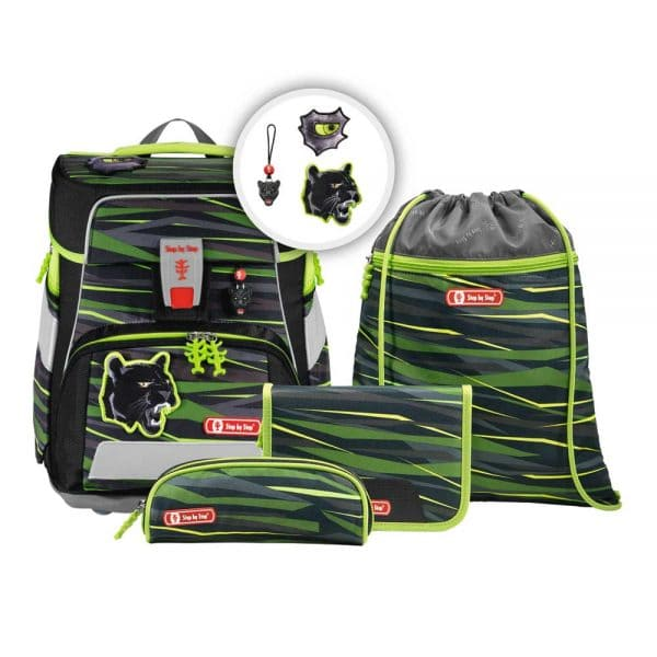 Step by Step Space Schulranzen-Set 5tlg Wild Cat