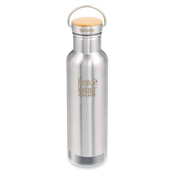 Klean Kanteen Reflect Vakuumisoliert Trinkflasche 592ml Brushed Stainless