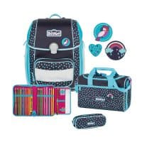 Scout Genius Schulranzen-Set 4tlg Tropical