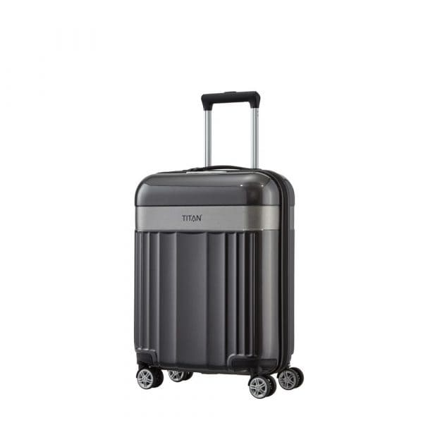 Titan Spotlight Flash 4-Rollen Trolley S 55 cm Anthracite