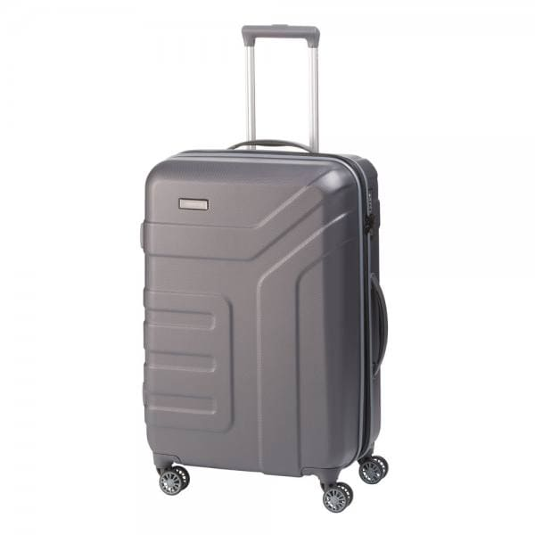 Travelite Vector 4-Rollen Trolley M 70 cm Anthrazit