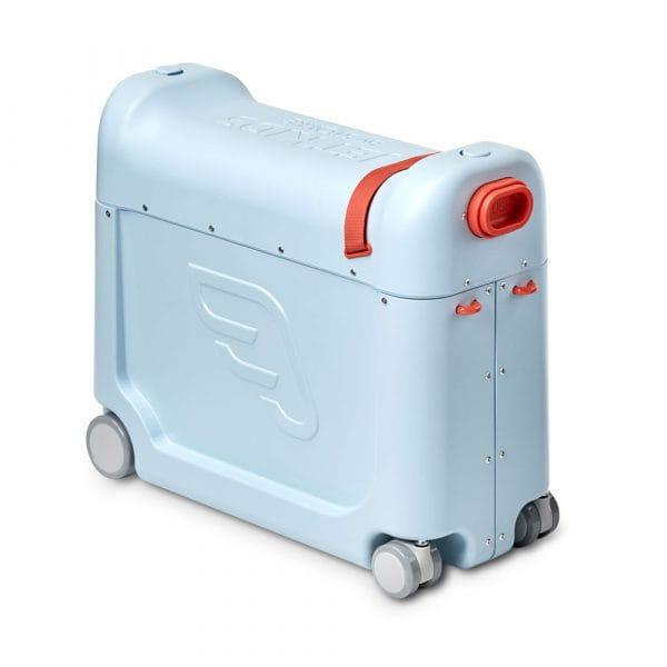 JetKids by Stokke BedBox Kinder-Aufsitzkoffer mit Bett Blue 1