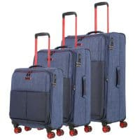 Travelite Proof Trolley-Set 3tlg S-M-L Marine